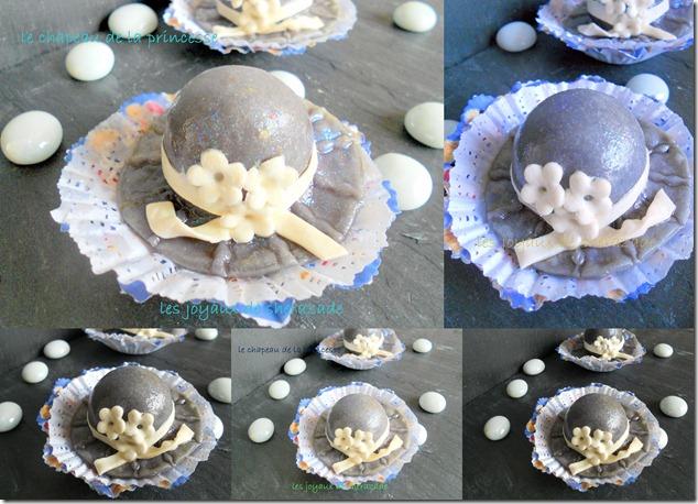 Gâteau algérien, les chapeaux de la mariée