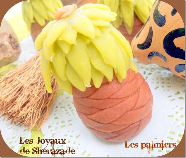 gâteau algérien moderne , le palmier