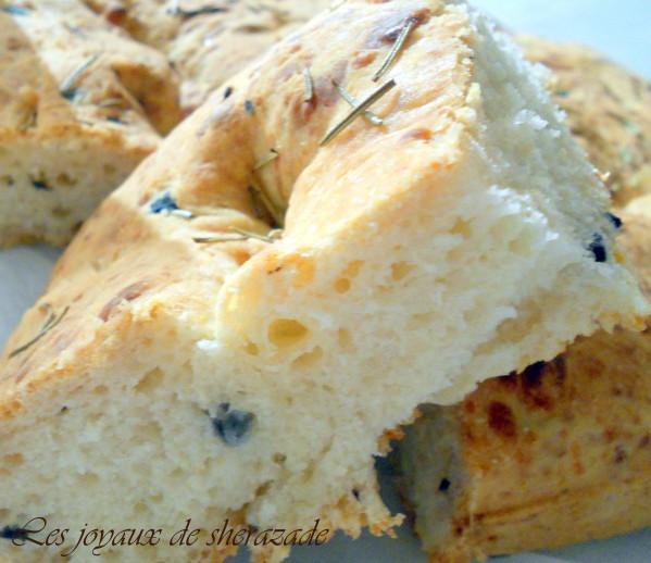 focaccia , pain italien