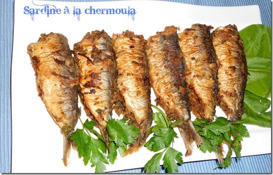 sardine frit à l'algérienne