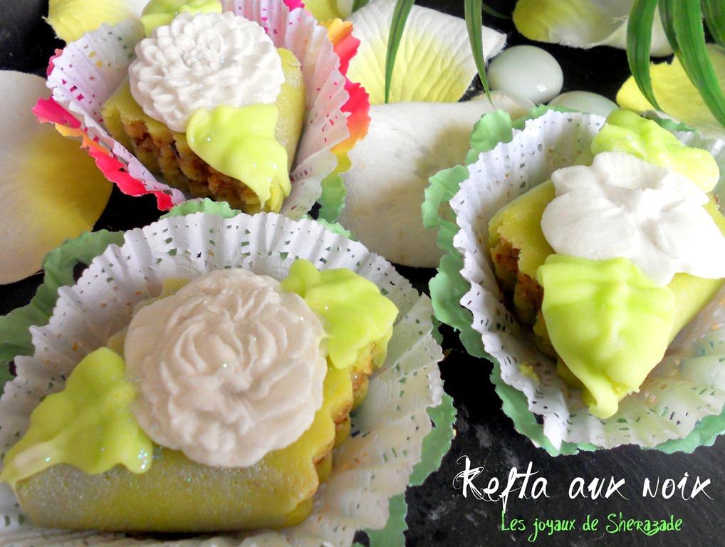 gâteaux algériens sans cuisson aux noix