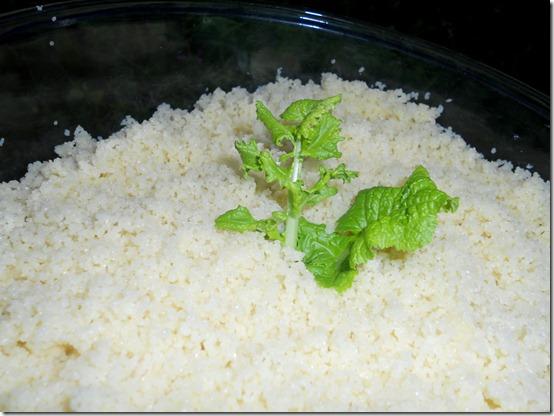 cuisson du couscous
