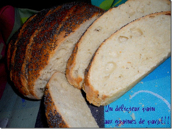 un déliceux pain maison