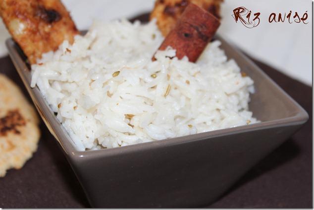 riz basmati à l'anis