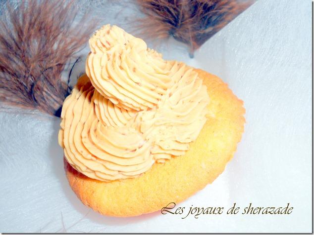 cupcake mascarpone spéculoos