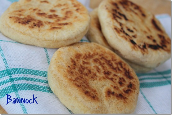 bannock, pain écossais
