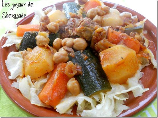 chakhchoucha, recette algerienne