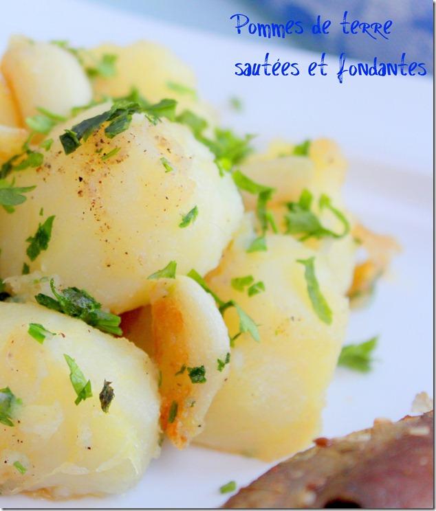 pommes de terre sautées et fondantes