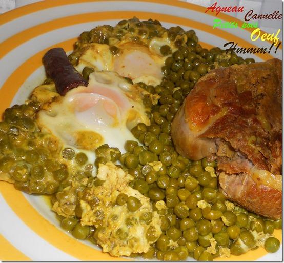 recette algerienne aux petits pois
