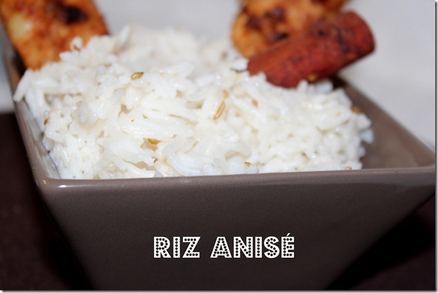 riz anisé