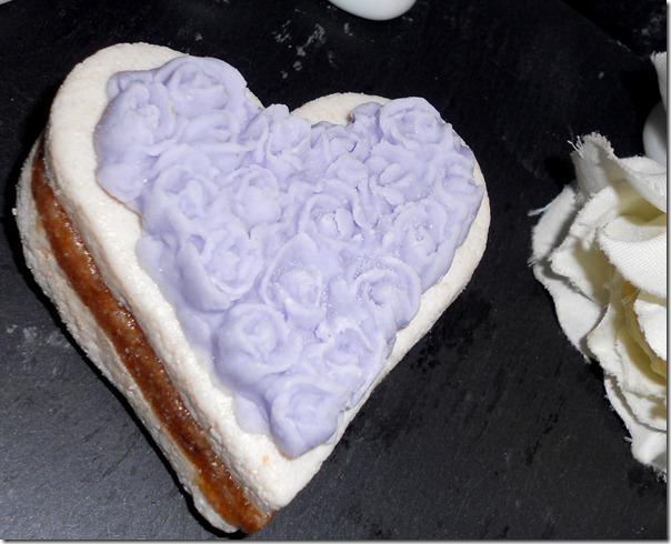 coeur praliné gateau algerien