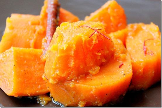 patate douce aux épices