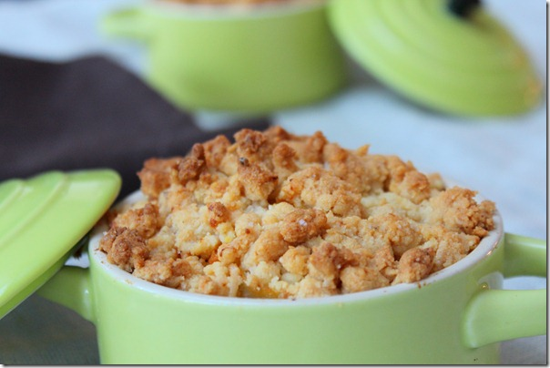 crumble patate douce carote