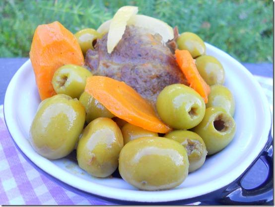 tajine aux olives et citron confits