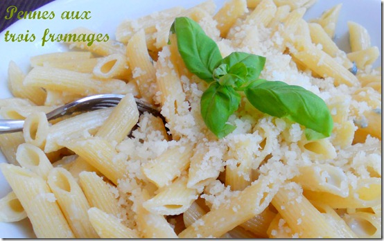 Pâtes aux fromages