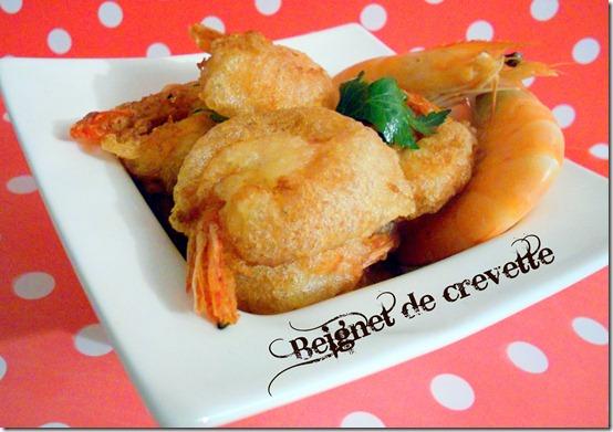 recette de beignet de crevettes