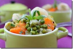 cocotte de légumes nouveaux