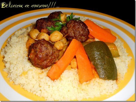 Couscous kefta for Plat simple et convivial