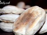 Batbout (pain marocain cuit à la poêle)