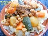 Chakhchoukha biskria, recette chakhchoukha de biskra