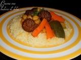 Couscous aux boulettes de kefta