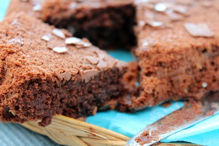 gâteau au chocolat , reine de saba