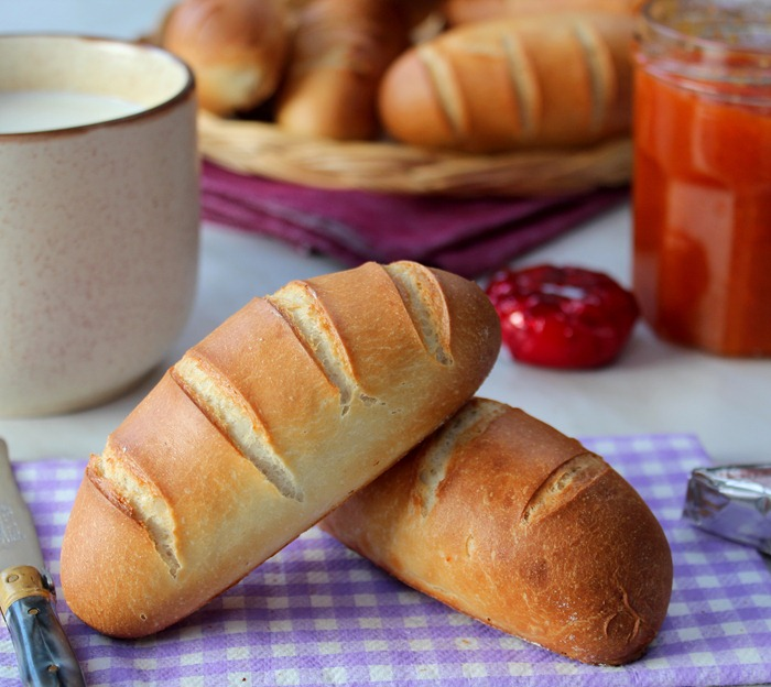 petit pain au lait pour le gouter