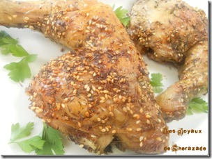 poulet au zaatar