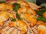 Rachida Amhaouche, croissants à la mortadelle