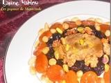 Tajine d'agneau aux fruits secs, Lham lahlou