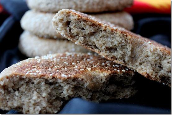 khobz zra3, pain algerien maison