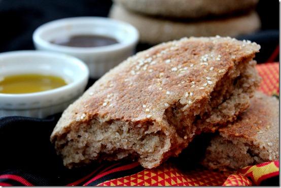 pain algerien à l'orge