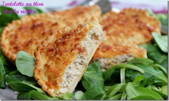 Quiche au thon et aux fromage, entrée pour ramadan