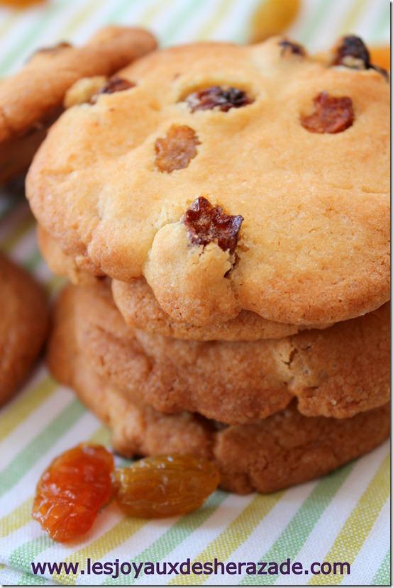 cookies aux raisins faciles