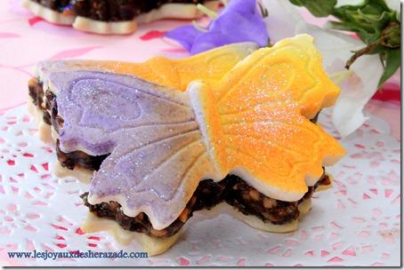 gateau algerien sans cuisson papillon