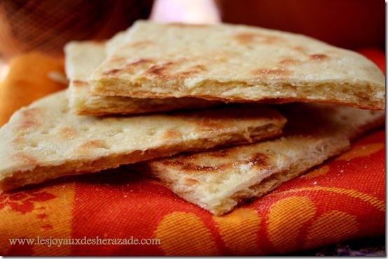 khobz ftir , pain algerien