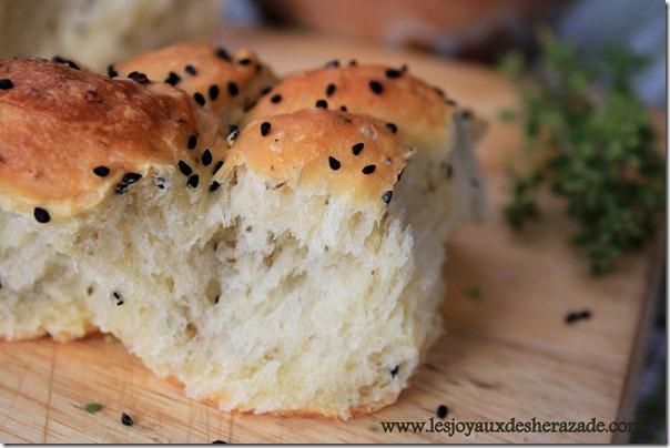 khoubz el koucha, pain algerien moelleux, pain à la farine