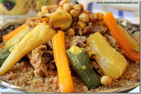 mermez bouzelouf, cuisine algerienne
