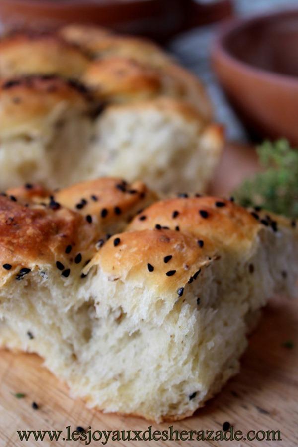pain super moelleux , pain algerien au four