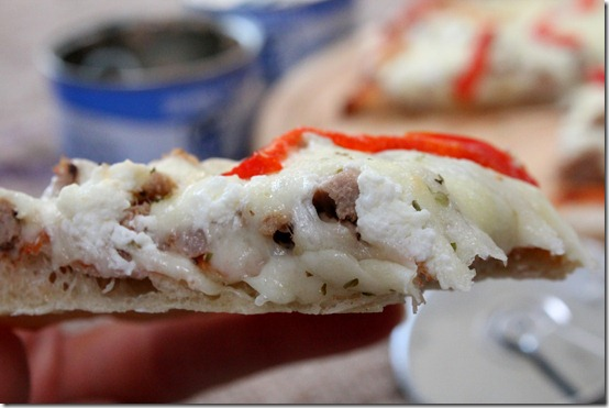 pizza au thon maison