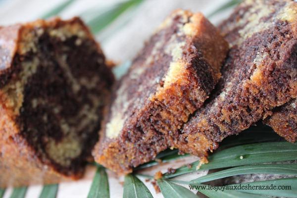 recette de cake marbré facile