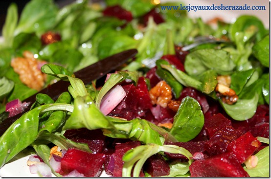 salade de betterave facile