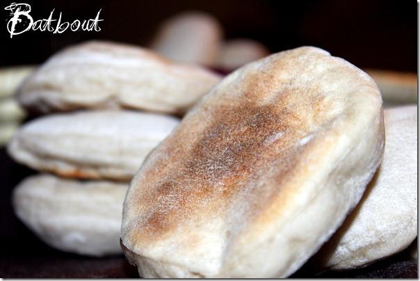 batbout, pain marocain à la poele