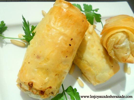 bourek, à la pâte filo, cuisine algerienne