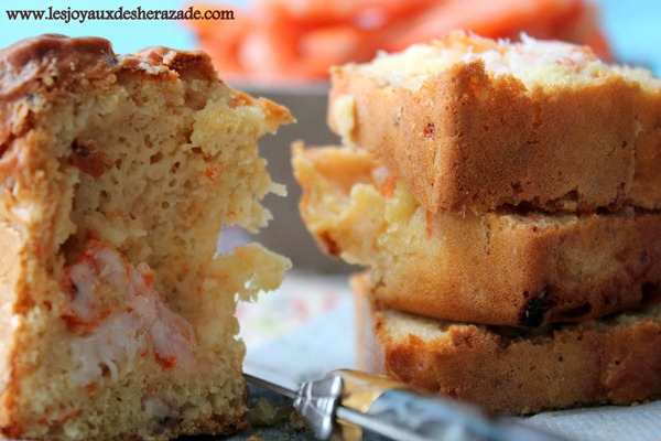 cake sale en entree , cake sale facile