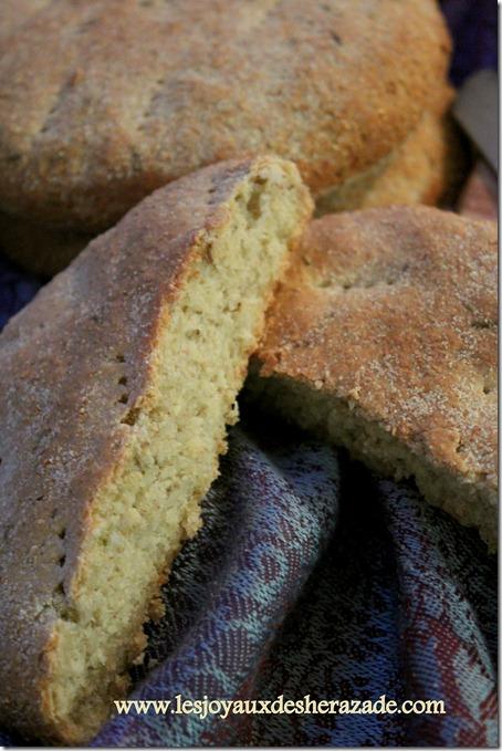 khobz eddar , pain maison cumin, pain facile