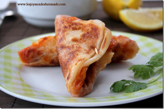 mhadjeb cuisine algerienne