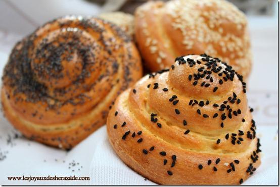 pain à la se moule en escargot