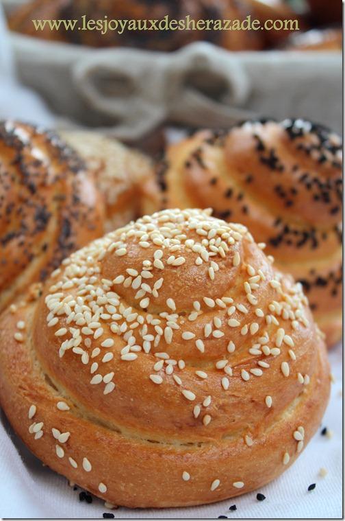 pain à la semoule, cuisine algerienne