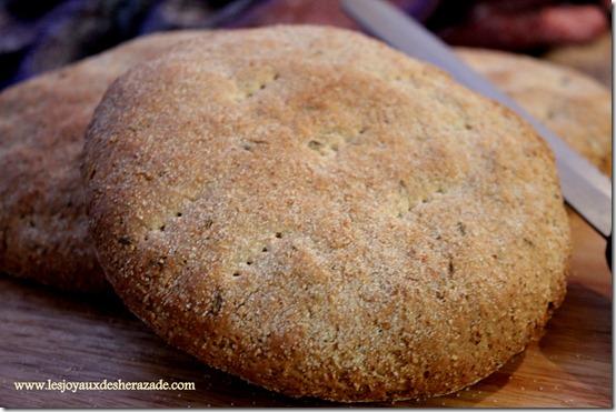 pain maison au cumin